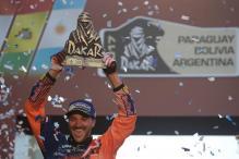 Dakar 2017: Sam Sunderland First Ever Brit to Win in a Category