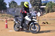 Triumph Motorcycles Holds Training Academy 2017 For Triumph Tiger Customers