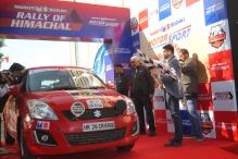 Maruti Suzuki Rally of Himachal Flagged Off From Panchkula