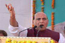 Rajnath Accuses Pak of Supplying Drugs To Punjab, Warns of Stern Action