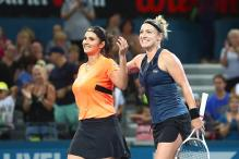 Sania Mirza Wins Brisbane Women's Doubles Title But Loses No.1 Rank