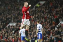 FA Cup: Rooney Equals Goal Record in Manchester United Rout of Reading