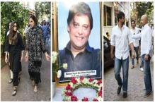 Alvira Khan, Jaaved Jaaferi And Other Celebrities Attend Film Producer Abis Rizvi's Funeral