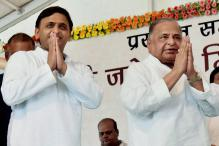 No Rift in Party, Says Mulayam; But in Delhi to Move EC for Cycle Symbol