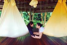 Alia Bhatt's Anti-gravity Yoga Workout Will Inspire You To Stay Fit Even During Vacations