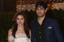 Alia-Sidharth Look Smitten as They Arrive For a Wedding Reception Together
