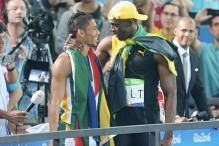 South African 400m World Record Holder Challenges Usain Bolt in 200m Dash