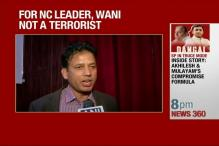 Watch: National Conference Leader Calls Burhan Wani a Martyr'