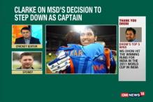 Dhoni Still Has a Lot to Offer As a Player: Michael Clarke