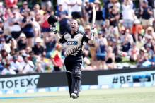 Colin Munro Becomes First Batsman to Hit Three T20I Centuries