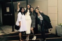 Deepika Padukone Opts For An All White Ensemble For Ellen DeGeneres Show