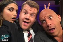 After Vin Diesel, Deepika Padukone Makes James Corden Do 'Lungi Dance', Watch Videos