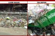 Striking Workers Dump Garbage On Streets