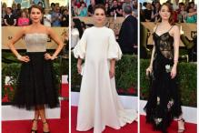 In Pictures: Red Carpet Fashion From the Screen Actors Guild Awards