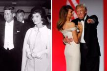 Jacqueline Kennedy to Melania Trump: What First Ladies Wore For Inaugural Events