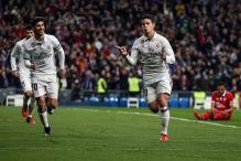 James Double Helps Real Madrid Thrash Sevilla in Copa Del Rey Quarters