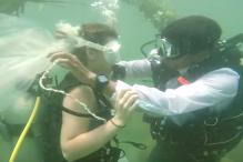 Watch: India's First Underwater Wedding Is Too Dreamy