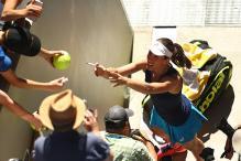 Australian Open 2017: Konta Blitzes Wozniacki to Continue Hot Run
