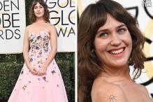 Golden Globes 2017: Lola Kirke Flaunts Hairy Armpits At Red Carpet