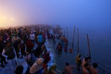 Over a Million Take Holy Dip at Ganga Sagar on Makar Sankranti