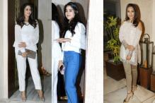 Sridevi-Jhanvi To Sonakshi: Stars Attend Manish Malhotra's Dinner Party