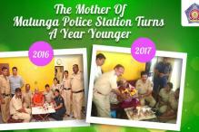 Mumbai Police Celebrates 83-YO Woman's Birthday With A Surprise Party