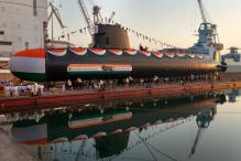 Scorpene Class-II Submarine 'Khanderi' With Superior Stealth Launched