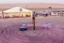 Ford Mustangs Drift to Set World Record For Largest Tyre Mark Image