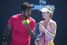 Australian Open 2017: Paes-Hingis Bow Out After Straight-Set Loss in Quarters