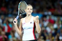 Karolina Pliskova Pulls Out of Sydney International With Thigh Injury