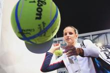 Fifth Seed Pliskova Survives Ostapenko Scare to Reach Fourth Round