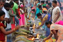Pongal Festival Celebrated With Pomp, Gaiety in Puducherry