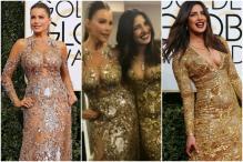 Priyanka Chopra, Sofia Vergara Look Like The Perfect Golden Globe Twins