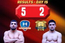 PWL 2017: Tomar Stuns Olympic champion Khinchegashvili as Haryana Beat Punjab