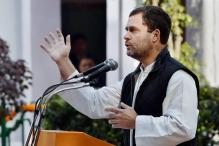 Rahul's 'Hand' Remark: BJP Moves EC, Wants Congress Poll Symbol Cancelled