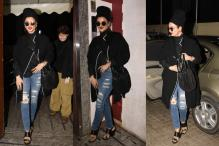 Rekha Sports Ripped Jeans, Breaks All Stereotypes In One Go