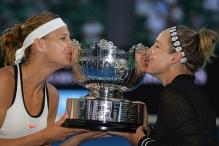 Australian Open 2017: Champions Mattek-Sands & Safarova Burn the Dance Floor