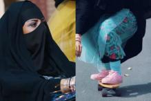 This Video Of Burqa-Clad Saudi Women Skateboarding Is Winning The Internet