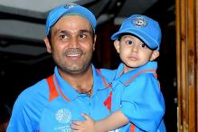 Virender Sehwag Shares Son's Sketch of MS Dhoni