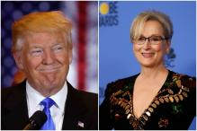 Donald Trump Responds To Meryl Streep's Speech At The Golden Globes