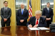 Donald Trump Gives Oval Office a Makeover, Reinstalls Churchill Bust