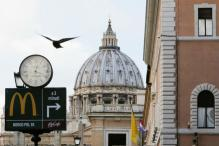 McDonald's Opens Near Vatican, Upsets Some Purists