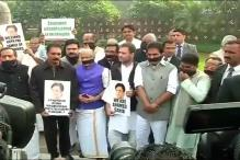 Parliament Live: Rahul Joins Protest Over E Ahamed's Death