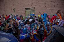 Dancers Dress as Devil in Popular Argentina Carnival