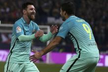 Copa Del Rey: Suarez, Messi Give Barcelona Edge at Atletico