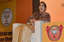 SP is 'Protector of Rapists', Says Irani After FIR Against UP Min in Rape Case