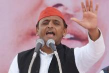 UP CM Akhilesh Yadav Campaigns for Tainted SP Leader Gayatri Prajapati