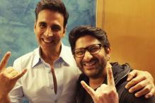 Akshay Kumar Thanks Arshad Warsi For Making It to Jolly LLB 2 Screening