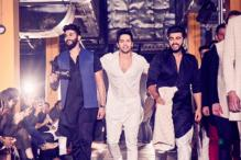 LFW 2017: Varun, Arjun Up The Fun Quotient During Kunal Rawal's Show