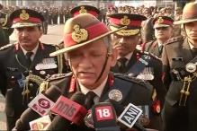 Army Chief Warns Locals Against Helping Terrorist